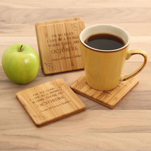 Anne of Green Gables October Coaster Set