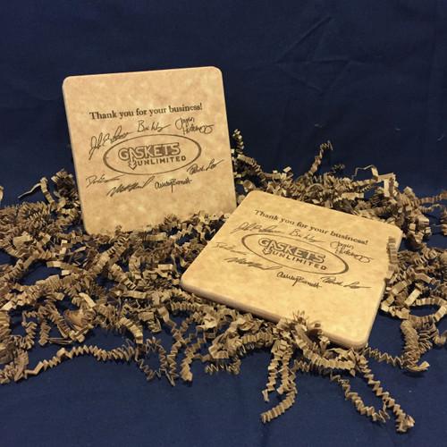 Personalized Coaster Gift Set