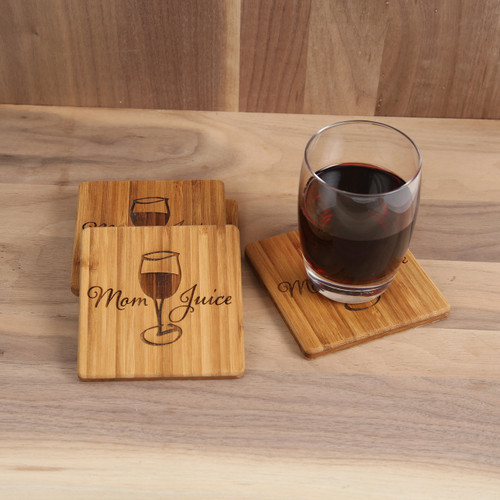 Mom Juice Coaster Set