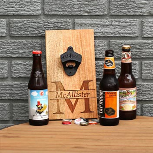 Personalized Mango Bottle Opener