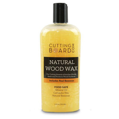 Cutting Board Wax for Butcher Blocks and Wood Countertops 12oz