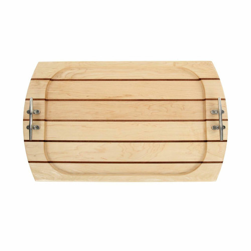 Large Rectangle Maple Serving Tray
