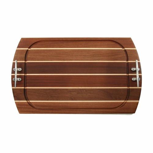 Large Rectangle Sapele Carving Board