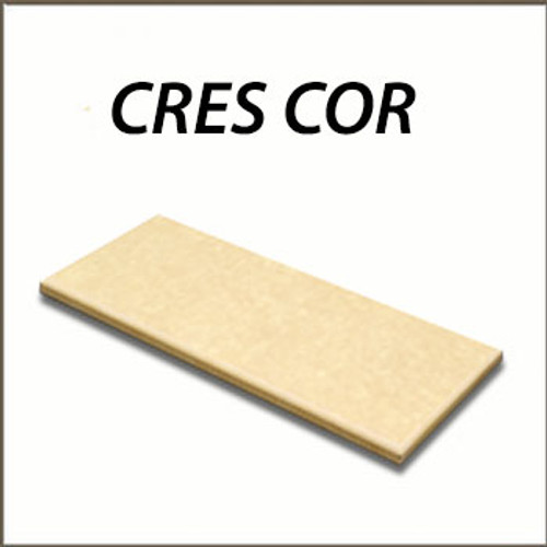 Cres Cor - 1004-025 Cutting Board, 1/2 Star Design