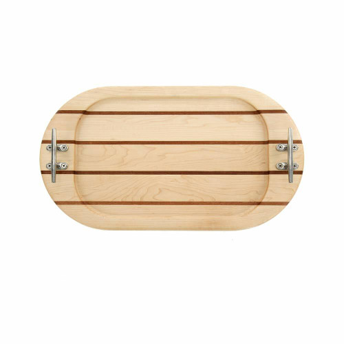 Small Oval Maple Serving Tray