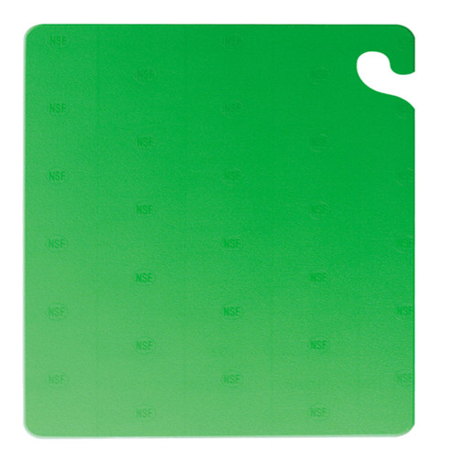 "San Jamar GREEN Cut-N-Carry Cutting Board 15"" x 20"" x 1/2"""