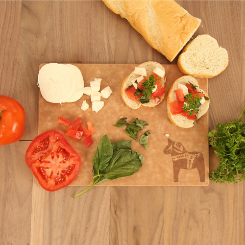 Swedish Dala Horse Engraved Cutting Board