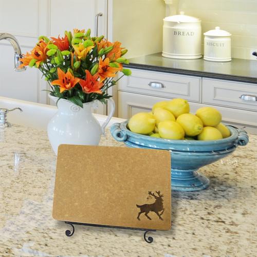 Reindeer Engraved Cutting Board