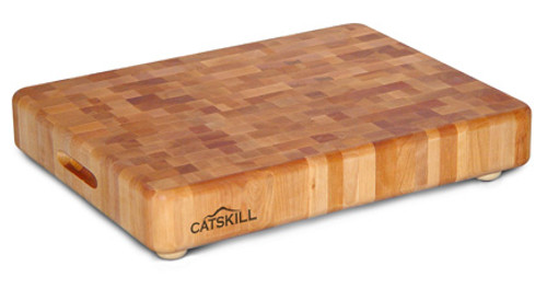 "Catskill Craftsmen Thick End Grain Chopping Block - 17"" x 13"" x 2"""