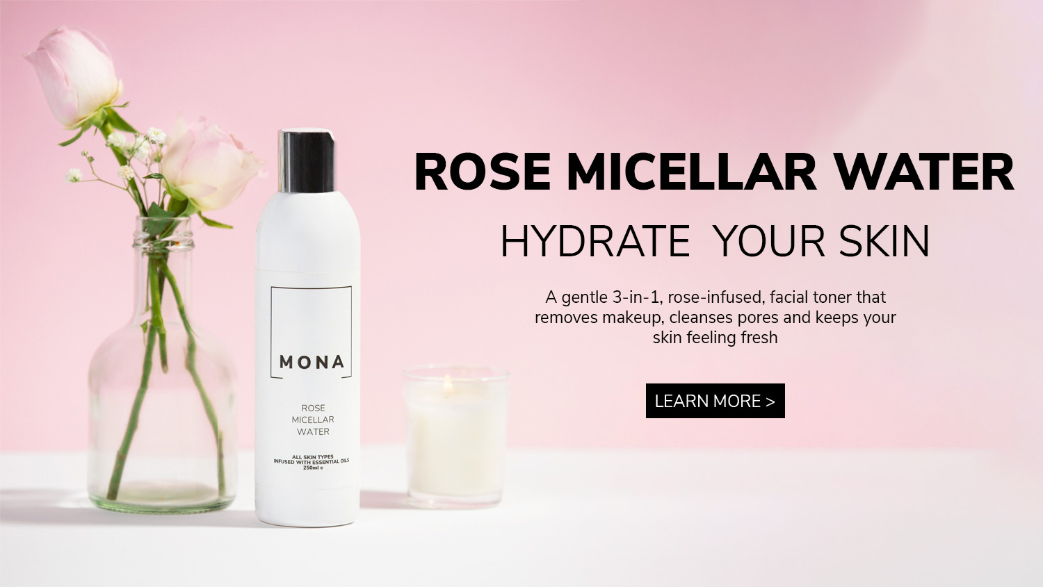 ROSE MICELLAR WATER