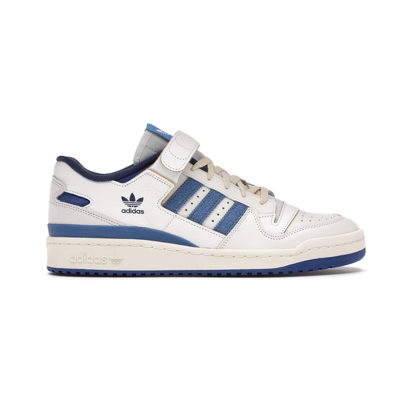 Adidas Forum 20 Low OG Bright Blue/ White/ Cream Tan/ Blue Men ...