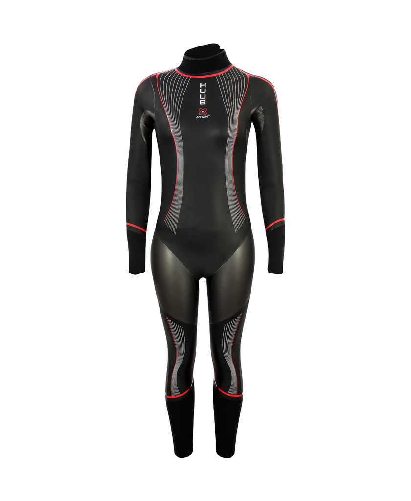 HUUB - 2021 - Atom 2 Junior Wetsuit 3:4 - 28 Day Hire