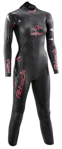 Sailfish - 2021 - Wetsuit Attack - Women's - Full Season Hire