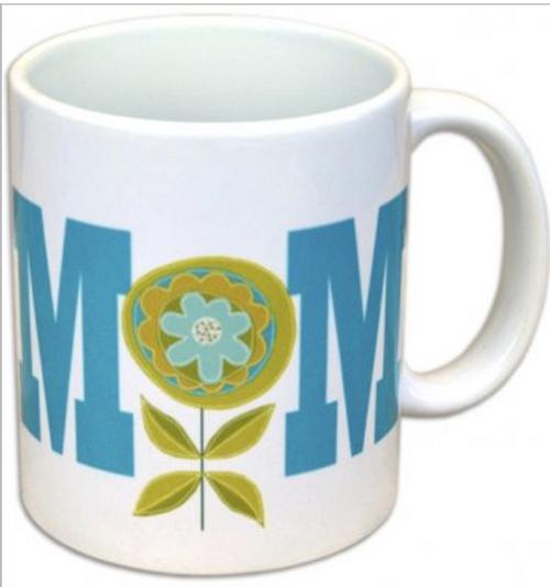 Mom Flower Coffee Mug