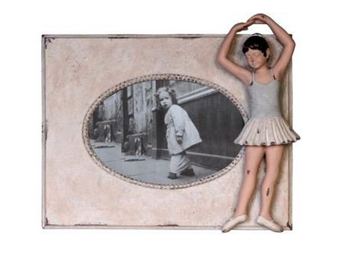 "Ballerina photo frame (9x8"")"