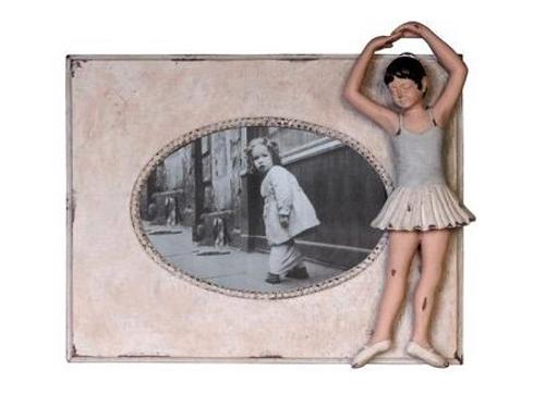 "Ballerina photo frame (9x8"")"