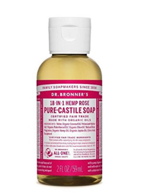 Dr. Bronner's Pure-Castile Small Liquid Soap