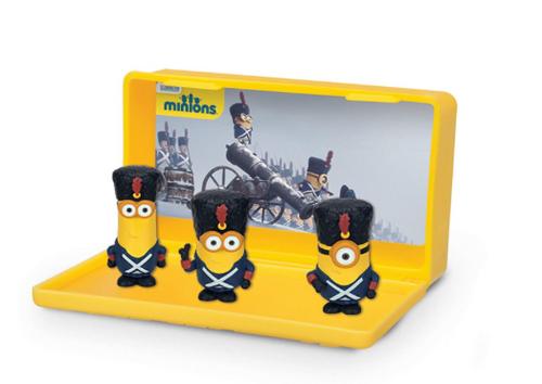 Despicable Me Minions Micro Minion Playset - Vive Le Minions