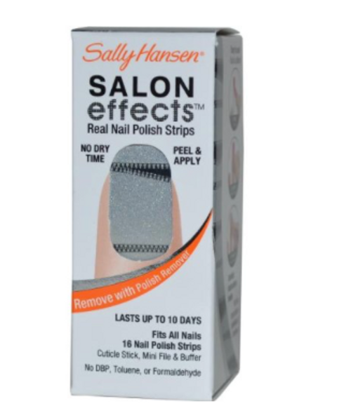 Sally Hansen Salon Effects - Zip It! / Rock of Ages - Nail Polish Strips