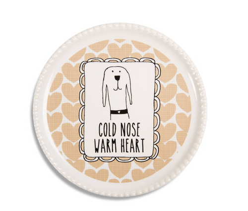 Cold Nose Warm Heart Coaster Cap Dish