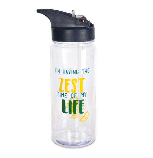 Livin' on the Wedge 73104 Limes Or Lemons Water Bottle