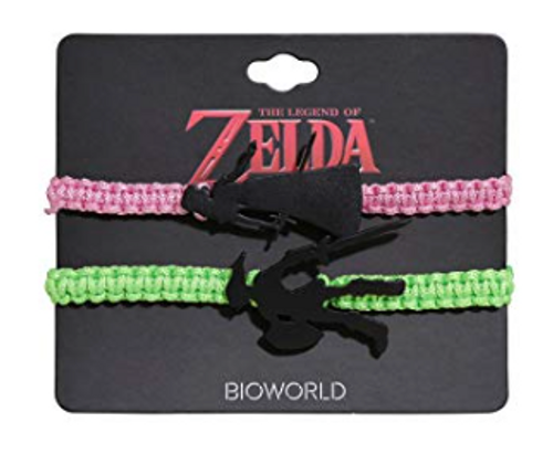 The Legend Of Zelda Best Friend Cord Bracelet Set