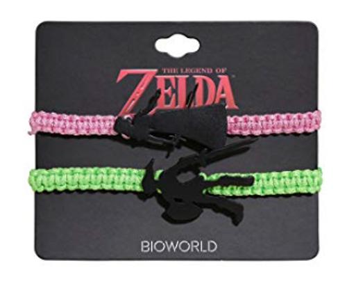 The Legend Of Zelda Best Friend Cord Bracelet Set