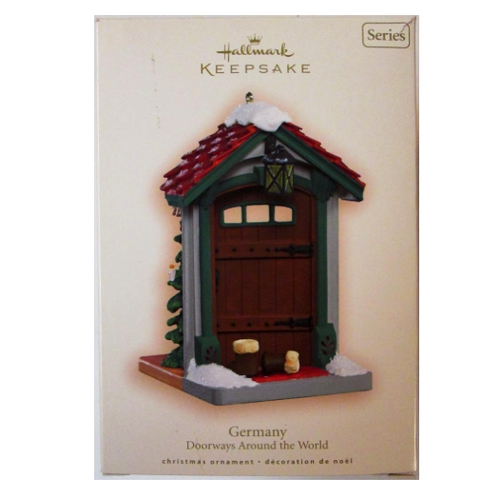 Hallmark Keepsake Ornament Germany Doorways Around the World