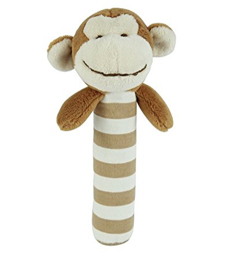 Maison Chic Mike The Monkey Stick Rattle