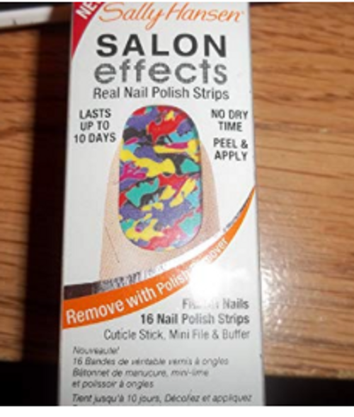 Sally Hansen Salon Effect Nail Polish Strips Collide-O-Scope
