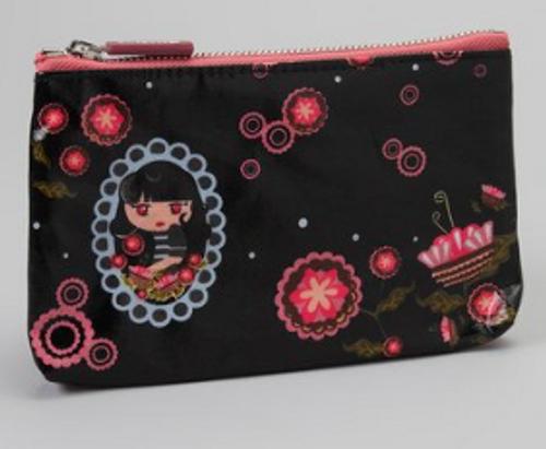 decodelire Black Rose Cosmetic Bag