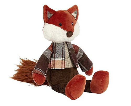 Maison Chic Rusty the Dressed Fox Plush Toy