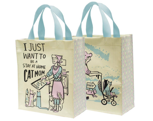 Primitives Daily Tote- Cat Mom