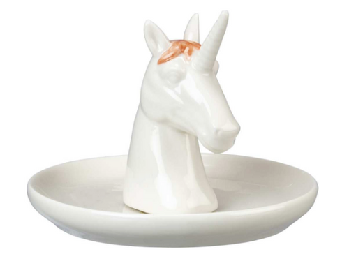 Primitives by Kathy Trinket Tray - Unicorn