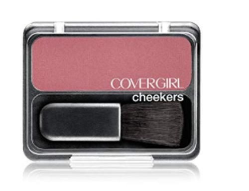 COVERGIRL Cheekers Blendable Powder Blush Plum Plush, .12 oz (packaging may vary)