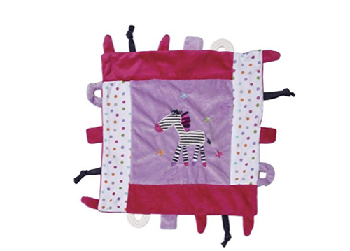 Maison Chic Multifunction Blankie, Zella The Zebra