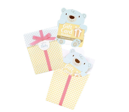 C.R. Gibson Gift Card Mailer, Baby Bear (Discontinued by Manufacturer)