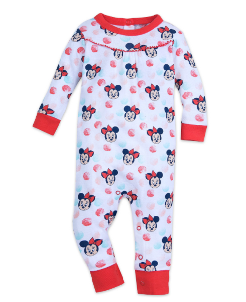 Disney Minnie Mouse Stretchie for Baby Size 12-18 MO Multi