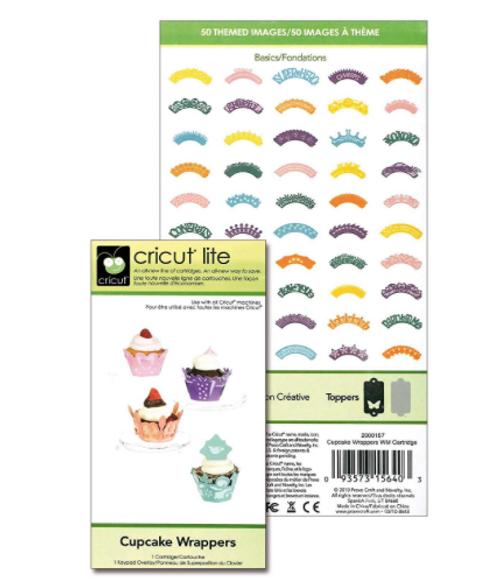 Cricut Cupcake Wrappers