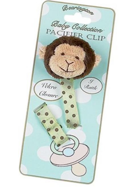 "Bearington Baby ""Giggles"" Pacifier Clip"