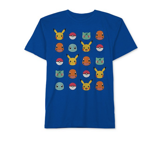 Pokemon Big Boy Graphic T-shirt