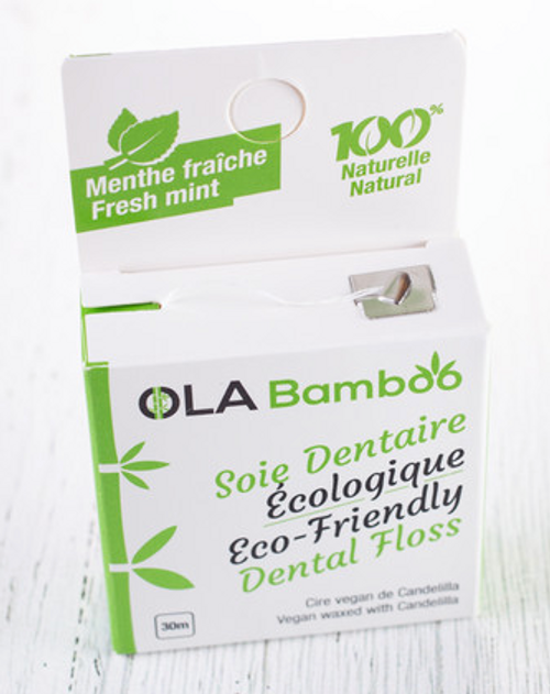 Ola Bamboo Eco-Friendly Dental Floss