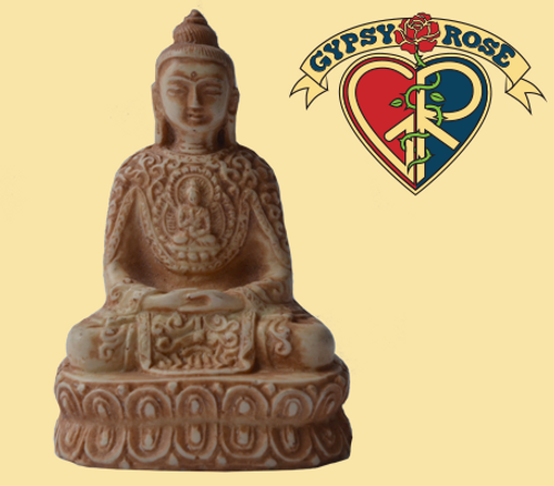 Deep Meditation Resin Sitting Buddha Statue