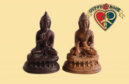 The Path To Nirvana Meditating Buddha Resin Statue