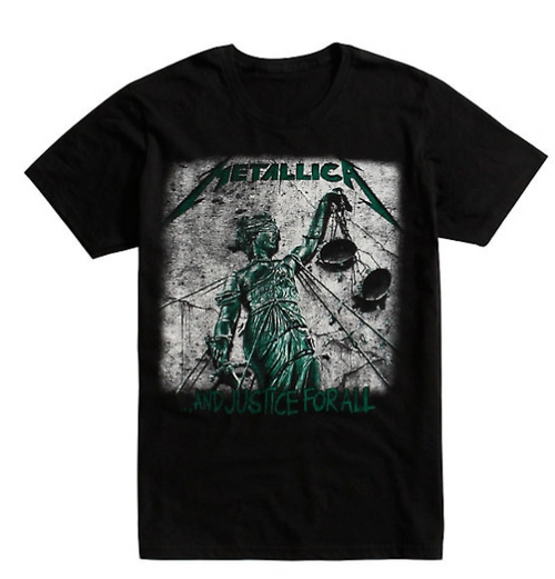 Metallica... And Justice For All T-Shirt