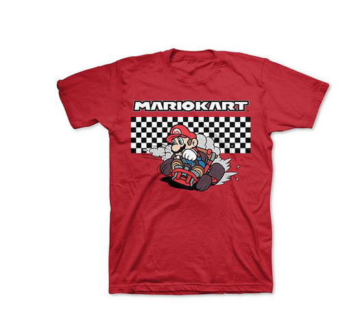 Nintendo Big Boys Mario Kart T-shirt