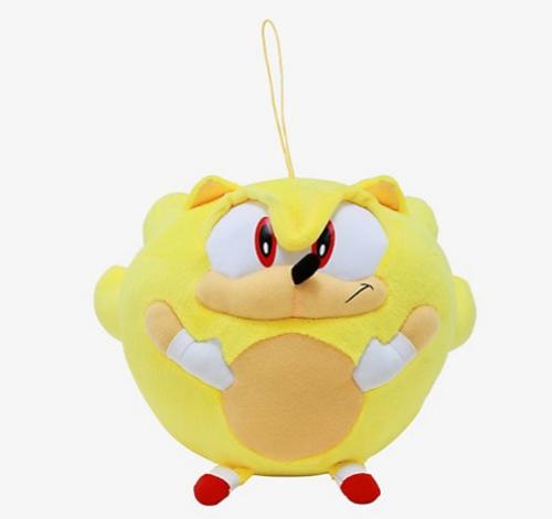 Sonic The Hedgehog Super Sonic 8 Inch Ball Plush