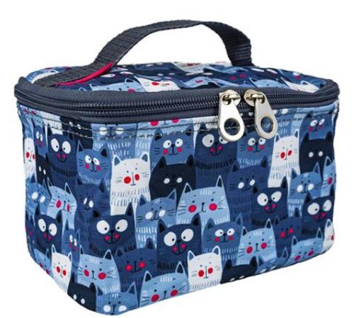 Cat Cosmetic Makeup Bag