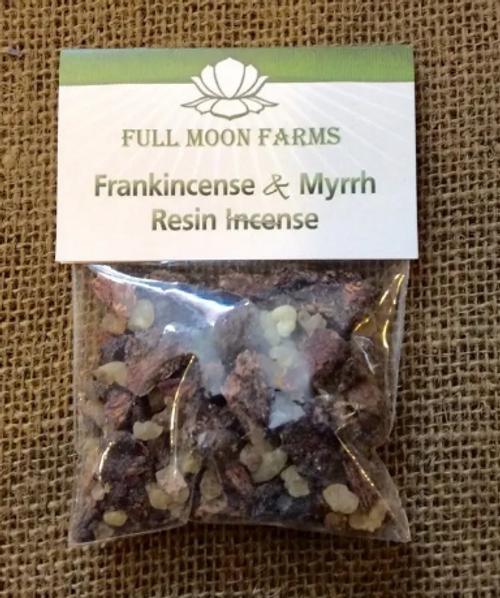Frankincense and Myrrh Resin Incense