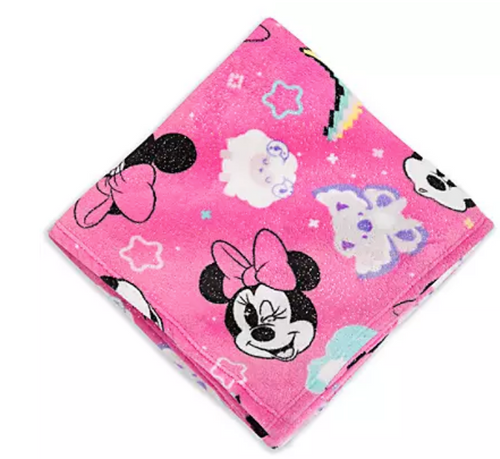 Minnie Mouse Fleece Throw